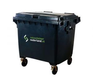 Rolcontainer Nederland 1100 liter container huren