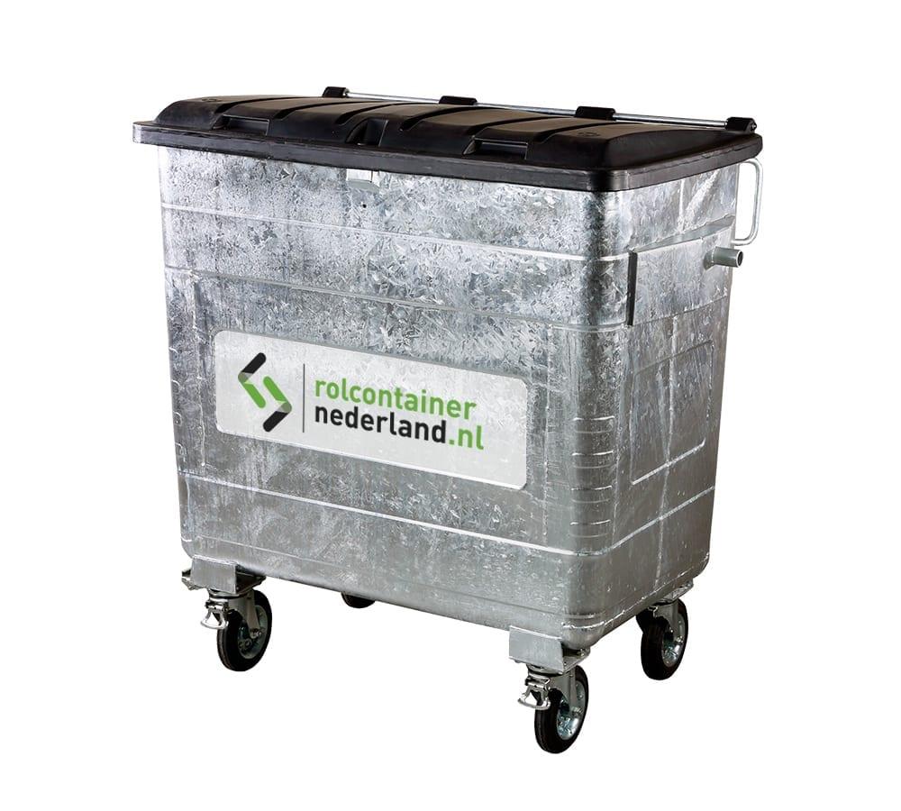 Rolcontainer Nederland 1300 liter container huren