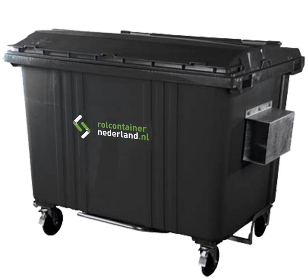 Rolcontainer Nederland 1700 liter container huren