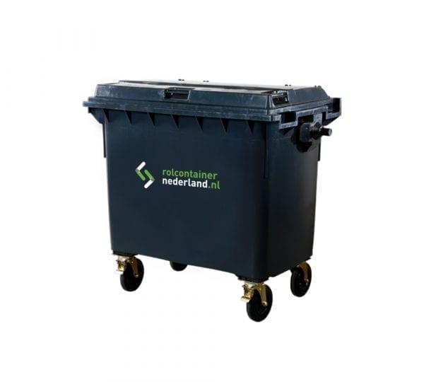 Rolcontainer Nederland 660 liter container huren