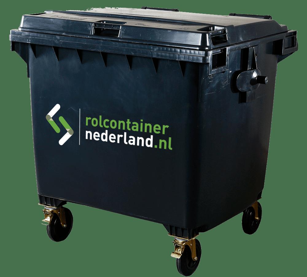 Rolcontainer Nederland 1100 liter rolcontainer huren